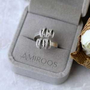 טבעת מיוחדת כסף 925