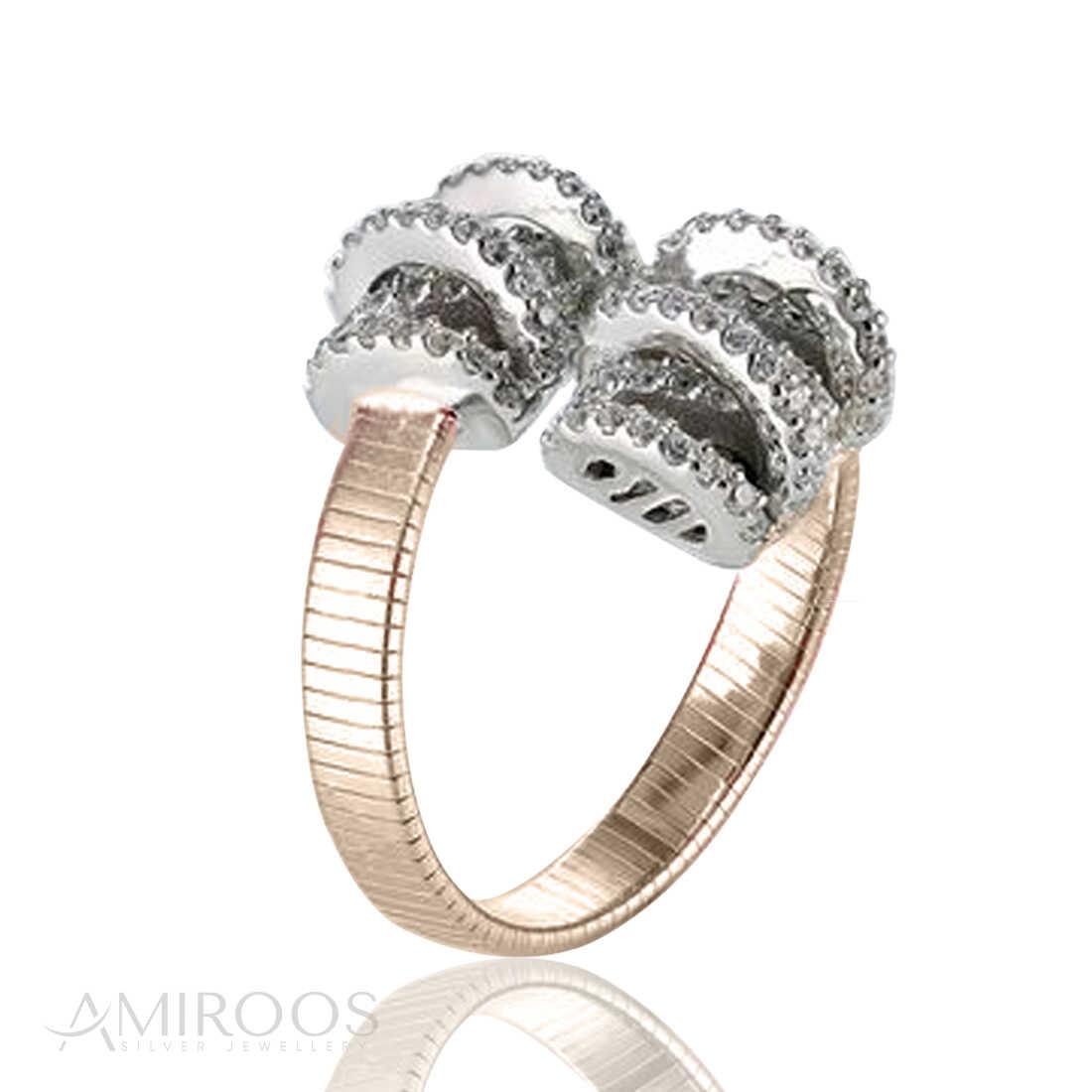 טבעת מכסף מיוחדת
