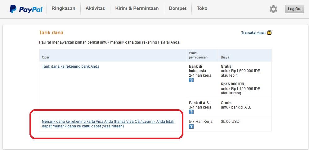 Indonesian Debit Card For Ebay Amirz123