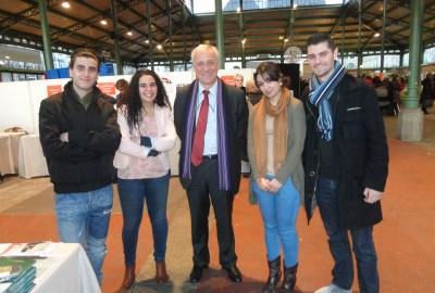 Abdenour, Nawel D.Delaveau, Yasmine et Florent