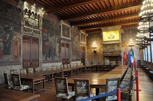 Douai - salle de garde du conseil municipal