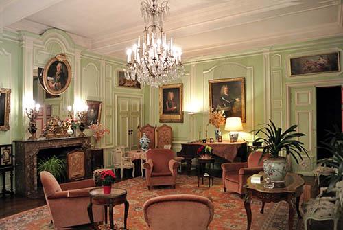 Intérieur du Chateau de Trelon - 2