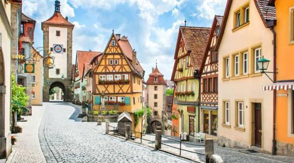 Village typique Bavarois