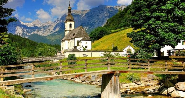 Eglise-de-Ramsau-am-Berchtesgaden