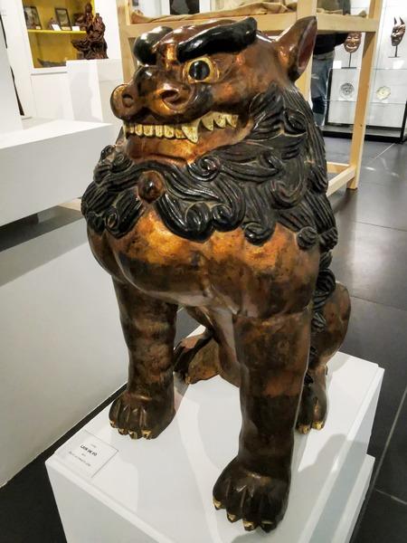 Statue d'un Lion de FÔ - Fin de dynastie QING