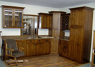 kitchen cabinet set furniture pantry 01 amish custom full