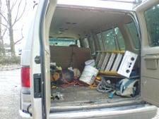 Amish Work Van