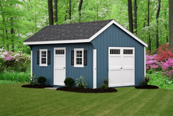 Amish Built Storage Sheds for Sale in Binghamton NY  Amish Barn Company