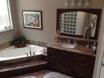 Bathroom Cabinets Houston bathroom cabinets - amish cabinets of texas - austin & houston