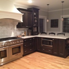 Amish Kitchen Cabinets Chicago Island Tables For Dark Stain Archives Custom Kitchens