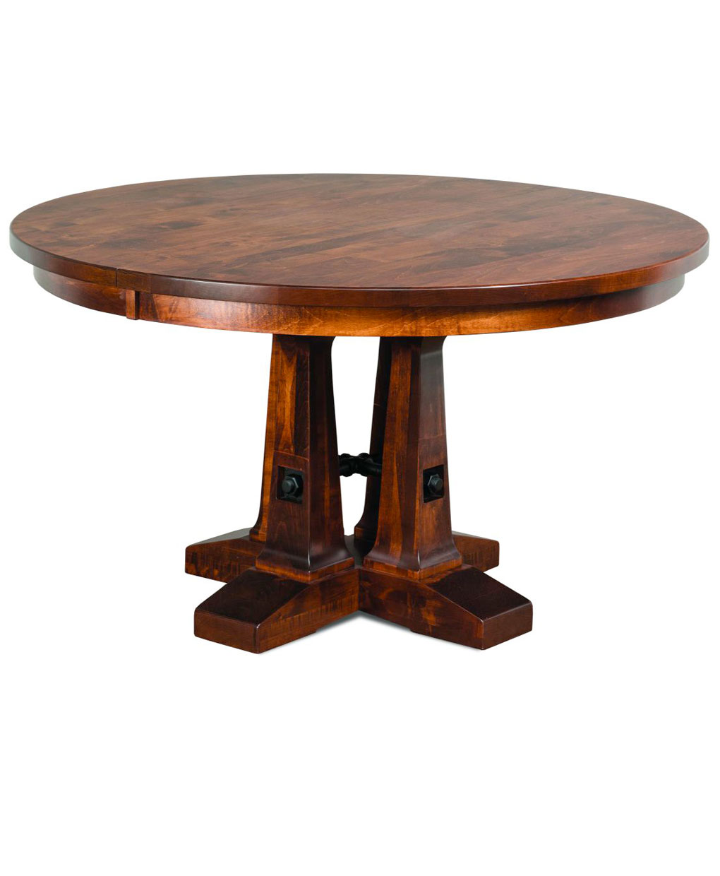 Vienna Round Dining Table  Amish Direct Furniture