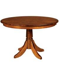 Baytown Single Pedestal Table - Amish Direct Furniture