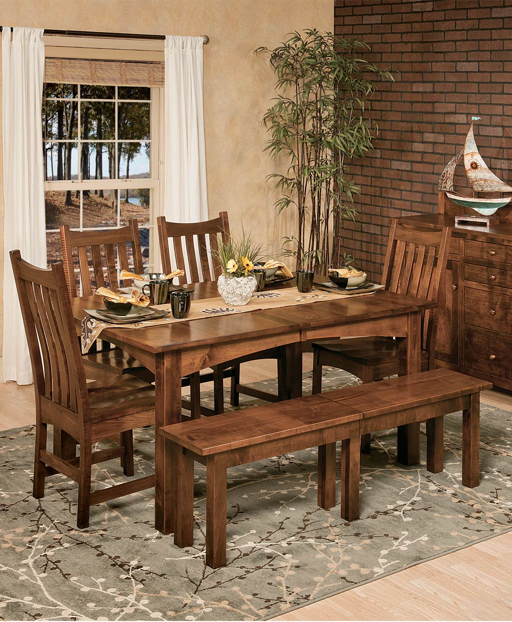 Heidis Dining Table  Amish Direct Furniture