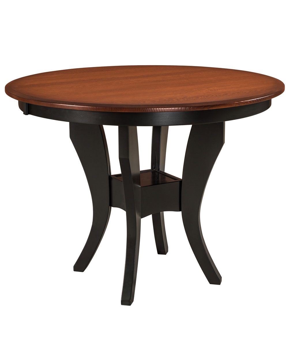 Imperial Single Pedestal Dining Table  Amish Direct Furniture