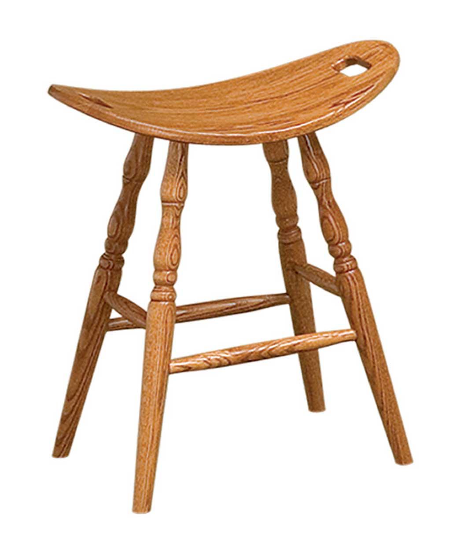 Saddle Bar Stool  Amish Direct Furniture