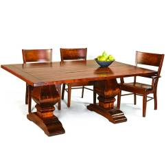 Amish Kitchen Tables Counter Height Table Wilmington Trestle Dining Direct Furniture