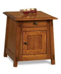 Colbran Enclosed End Table - Amish Direct Furniture