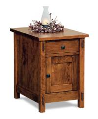 Centennial Enclosed End Table - Amish Direct Furniture