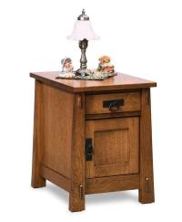 Modesto Enclosed End Table - Amish Direct Furniture
