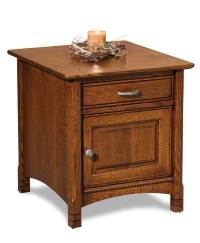 West Lake Enclosed End Table - Amish Direct Furniture