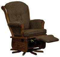 Swanback Swivel Glider - Amish Direct Furniture