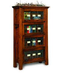 Artesa Barrister Bookcase - Amish Direct Furniture