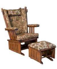 J. Mission Glider - Amish Direct Furniture