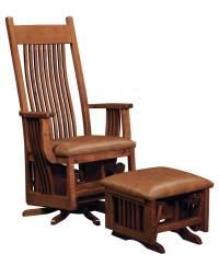 Royal Mission Swivel Glider - Amish Direct Furniture