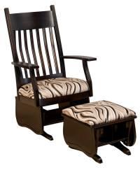 Oakland Slat Glider - Amish Direct Furniture