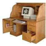 Computer Rolltop Desk Amish Direct Furniture