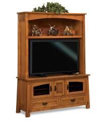 Modesto Media TV Entertainment Center - Amish Direct Furniture