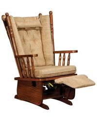 4 Post High Back Glider - Amish Direct Furniture