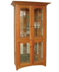 Royal Mission Curio Cabinet - Amish Direct Furniture