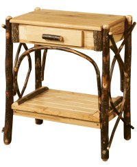 Classic Log End Table - Amish Direct Furniture
