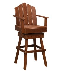 Pine Captain's Swivel Chair - Amish Direct Furniture
