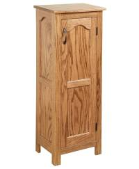 Oak Storage Cabinet - Amish Direct Furniture