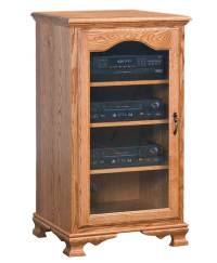 Heritage Stereo Cabinet - Amish Direct Furniture