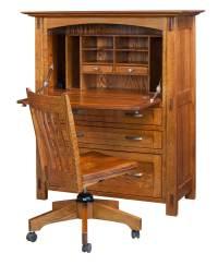Modesto Secretary Desk - Amish Direct Furniture