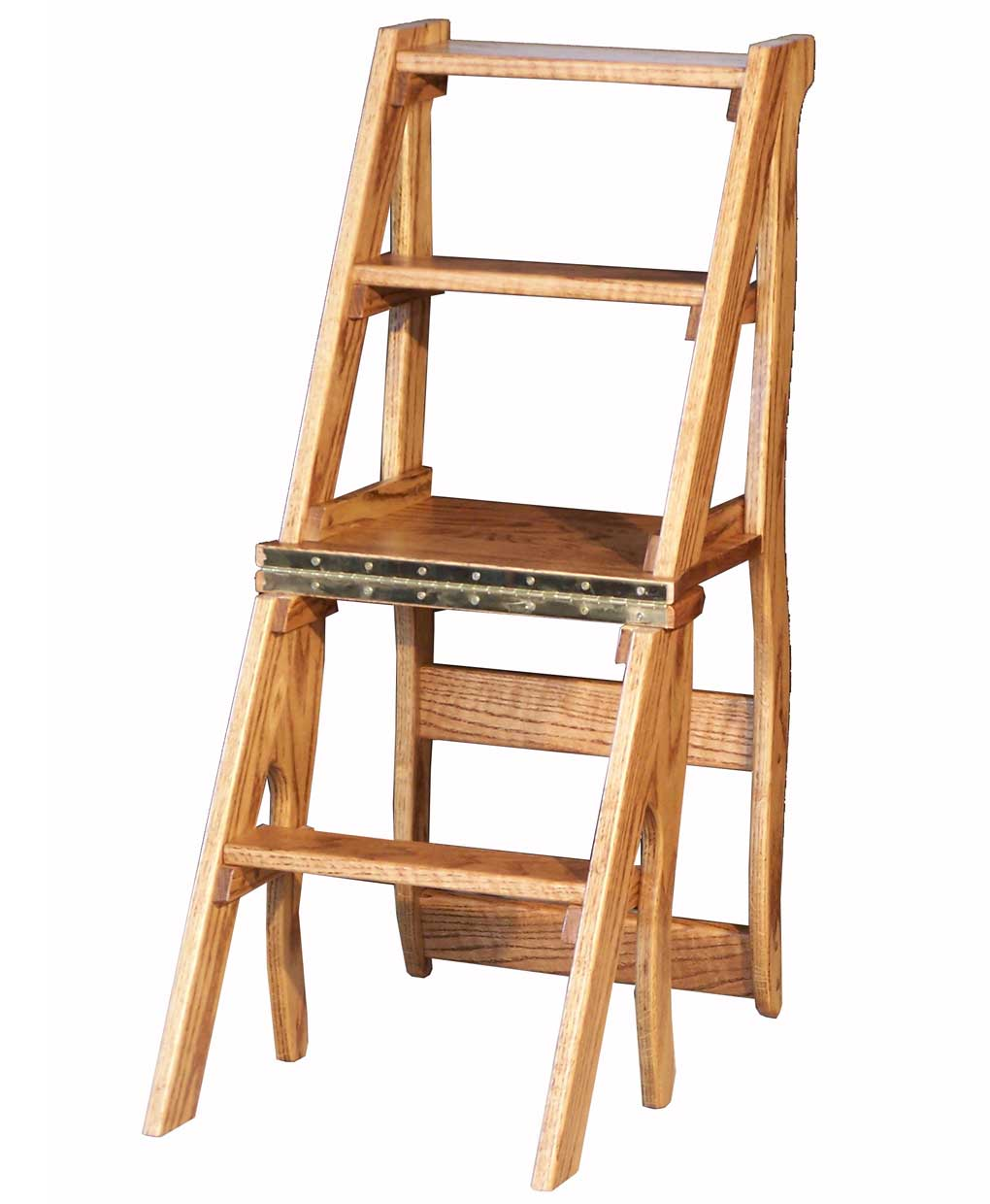 library chair ladder coffee table with chairs under amish direct furniture
