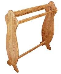Medium Quilt Rack - Oak - Amish Direct Furniture