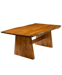 Bayport Dining Table with Live Edge - Amish Direct Furniture