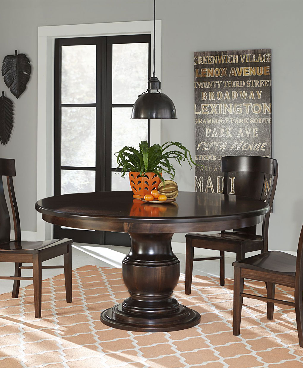 kitchen furniture sets wine decor accessories best amish dining room table