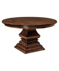 Bradford Single Pedestal Table - Amish Direct Furniture