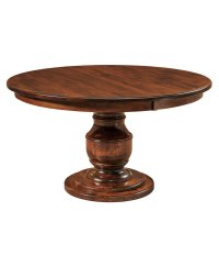 Burlington Single Pedestal Table - Amish Direct Furniture
