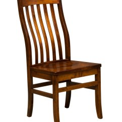 Dining Chairs At Marshalls High Chair Cushion For Wooden Marshall Amish Direct Furniture Side