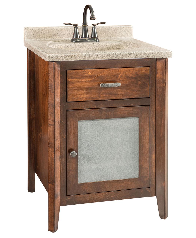 garland amish bathroom vanity