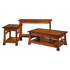Amish Built Sofa Tables Leather Clearance Ontario Brady Table Direct Furniture Occasional Set
