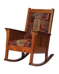 Shaker Rocker - Amish Furniture Designed