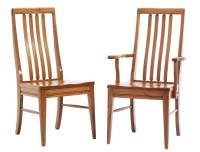 Newport Shaker Chairs - Amish Furniture Designed
