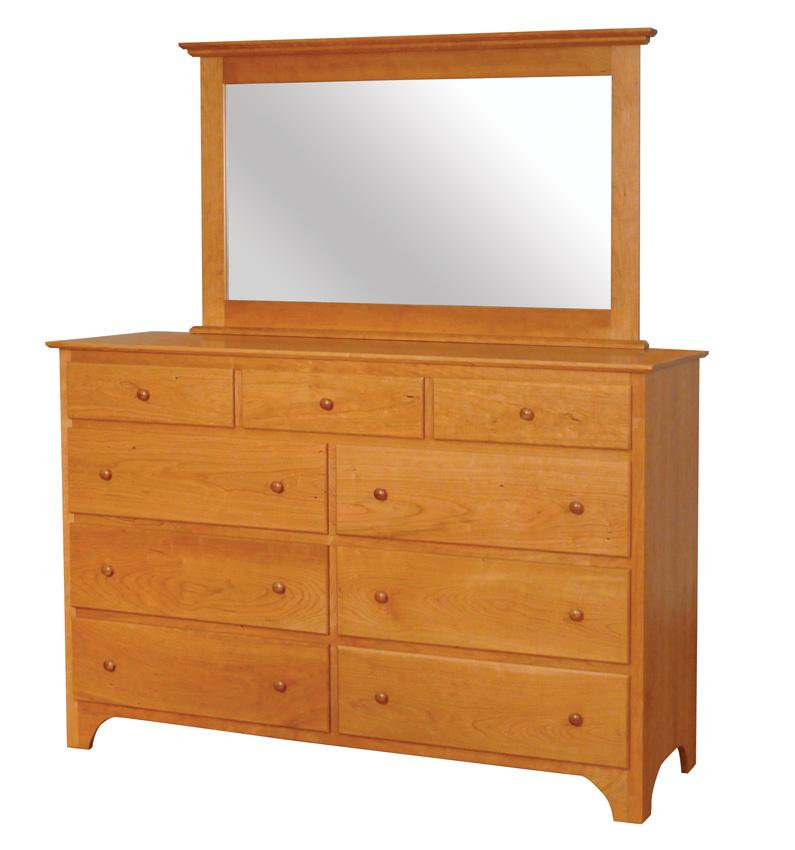 Shaker Dresser  Amish Furniture Designed